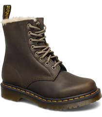 1460 pascal wb shoes boots ankle boots ankle boots flat heel brun dr. martens