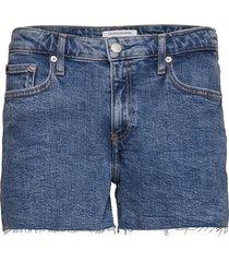 mid rise weekend sho shorts denim shorts blå calvin klein jeans