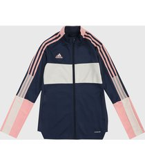 chaqueta azul-rosa-blanco adidas performance tiro tk jkt cuw
