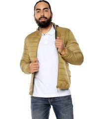 chaqueta caqui doble faz- verde americanino