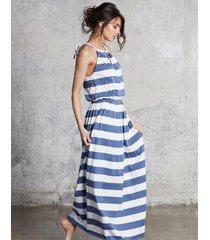 sukienka maxi stripes