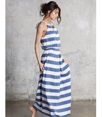 sukienka maxi stripes