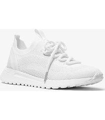 mk sneaker bodie in mesh - bianco ottico (bianco) - michael kors