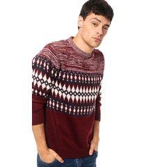 sweater  bordó  bross