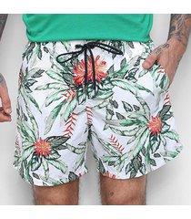 boardshorts colcci es2 ccs praia floral masculino - masculino