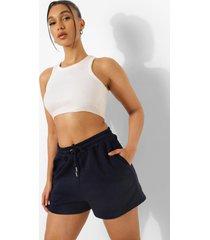 basic sweat shorts, navy