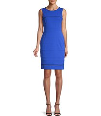 avy stretch knit sheath dress