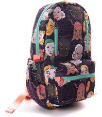 maleta mini iguaque ciencia morado 13