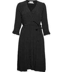 2nd carlos knälång klänning svart 2ndday