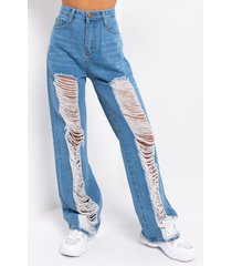 akira right up my alley high waist distressed jeans