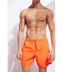 calzedonia men's swim trunks formentera man orange size l