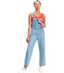 macacão jeans levis vintage - 10001 azul - kanui