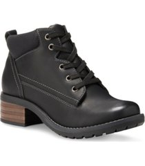 eastland bandana lace-up boots women's shoes