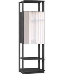 estante armário c/espelho expresso be mobiliário