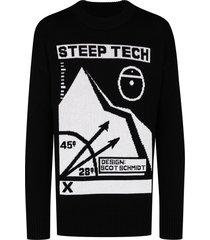 steep tech knit sweater