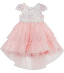 rare editions toddler girls tiered tulle dress