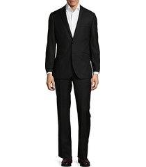 two-button modern-fit wool suit