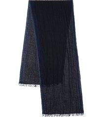 fringed wool shawl