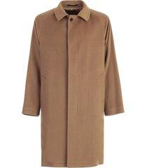 tagliatore coat single breasted raglan shoulder