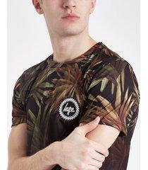 mens hype black palm fade t-shirt