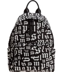 palm angels monogram backpack