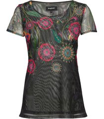 ts karen t-shirts & tops short-sleeved multi/mönstrad desigual