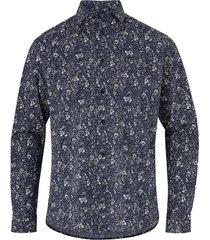 skjorta slhslimfreddie-camp shirt ls