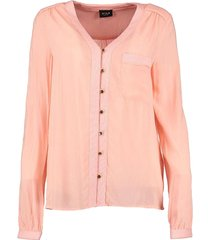 vila blouse apricot blush