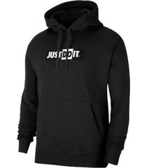 buzo capotado nike just do it hoodie hombre