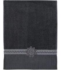 """avanti """"braided cuff"""" bath towel, 25x50"""" bedding"""