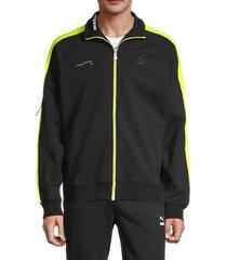 men's puma x ader t7 track jacket - black - size l
