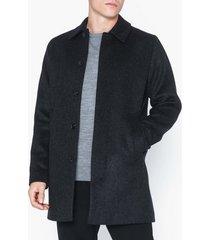 samsøe samsøe kenpo x coat 4011 jackor dark grey melange