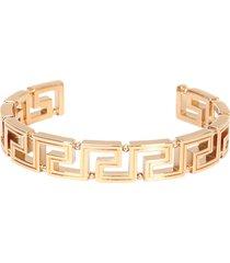 versace rigid bracelet with greek