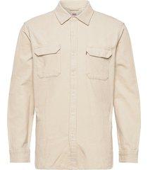 jackson worker almond milk skjorta casual creme levi´s men