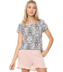 blusa natural ted bodin