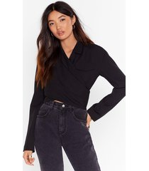 she's cut-out of control cropped jacket
