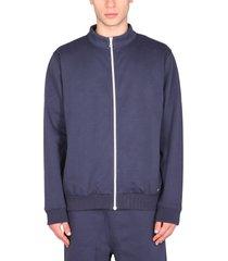 a.p.c. sweatshirt with zip