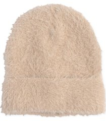 echo brushed furry knit hat