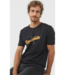 camiseta yachtsman atlantic regatta preta