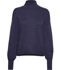wanetta pullover gebreide trui blauw inwear