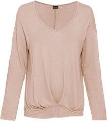 maglia a maniche lunghe (beige) - bodyflirt