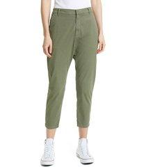 women's nili lotan paris pants, size 12 - green