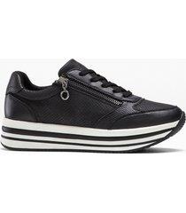 sneaker con plateau s.oliver (nero) - s.oliver