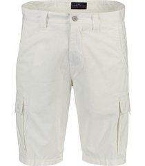 portofino shorts cargo zakken wit flatfront