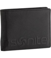 samsonite samsonite rfid credit card billfold wallet