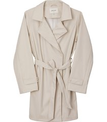 matt & nat nora womens waterproof trench coat, nude