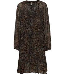 pzamaya dress premium quality knälång klänning svart pulz jeans