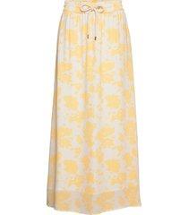 orchid recycled skirt p lång kjol gul notes du nord