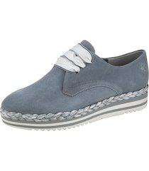 sneakers marco tozzi blå