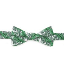 men's palm leaf bow tie